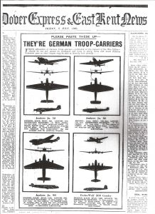 Dover Express & East Kent News German troop-carrier recognition guide